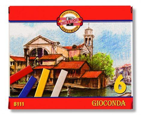 KOH-I-NOOR 8111 Gioconda 6 db-os olajkréta készlet