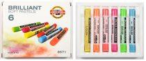 KOH-I-NOOR 8571 Brillant porkréta 6 különböző szín