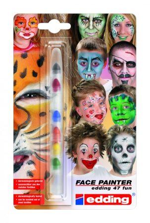 EDDING 47 Arcfesték készlet 7 különböző szín