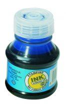 KOH-I-NOOR 142503 bélyegzőfesték, kék színű, 50 ml, ecsetes