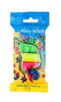 KOH-I-NOOR neon színű gyurmakészlet 5 szín 100 g