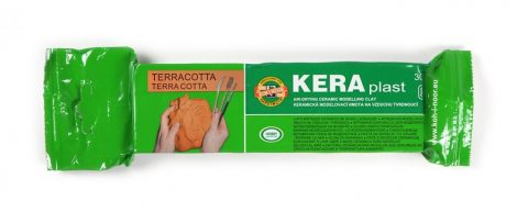 KOH-I-NOOR 131709 modellező gyurma - terracotta
