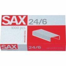 SAX 24/6 fűzőkapocs cink