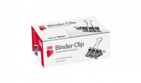 ICO Binder csipesz 41 mm / 12 db