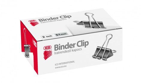 ICO Binder csipesz 51 mm / 12 db