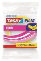 TESA 53930 Tesafilm Neon írható és visszaszedhető ragasztószalag neon színekben 10 m x 19 mm