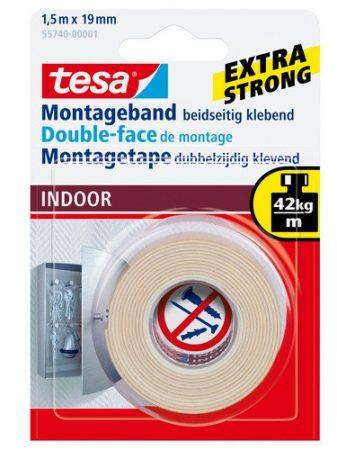 TESA 55740 Beltéri montázsszalag 1.5m x 19mm