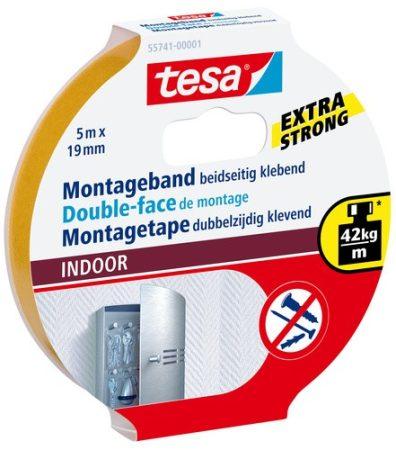 TESA 55741 Beltéri montázsszalag 5m x 19mm