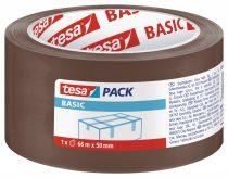 TESA 58571 Basic barna csomagolószalag 66m x 50mm