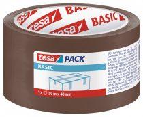 TESA 58573 Basic barna csomagolószalag 50m x 48mm