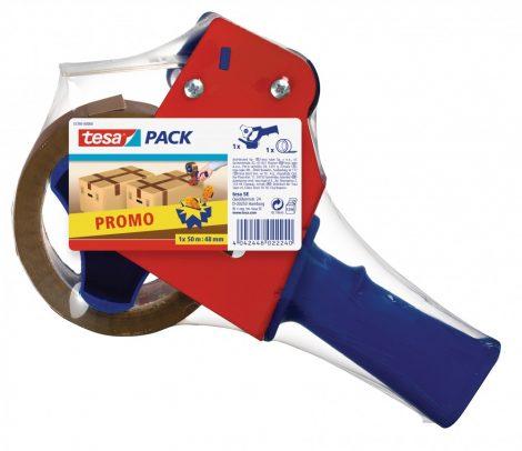 TESA 57395 Csomagzárógép PROMO + Csomagolószalag 50m x 48mm