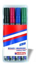 EDDING 250 Táblamarker készlet - 4 szín