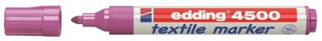EDDING 4500 textilmarker - LILA