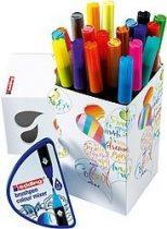 EDDING 1340/20+1 Colour Happy színezőszett, ecsetfilc készlet - 20 db filc/doboz