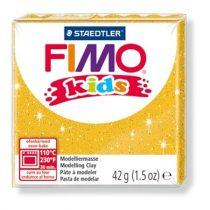 STAEDTLER FIMO Kids arany glitteres égethető gyurma - 112 - 42 g