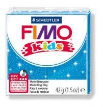 STAEDTLER FIMO Kids kék glitteres égethető gyurma - 312 - 42 g