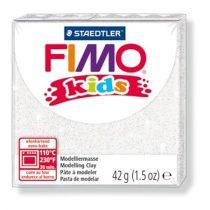 STAEDTLER FIMO Kids fehér glitteres égethető gyurma - 052 - 42 g