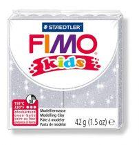STAEDTLER FIMO Kids ezüst glitteres égethető gyurma - 812 - 42 g