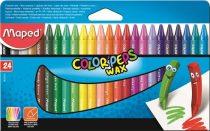 MAPED Color Peps Wax 24 db-os zsírkréta készlet