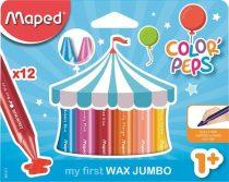 MAPED Color Peps Jumbo Maxi Wax 12 db-os zsírkréta