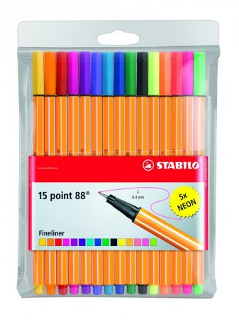 STABILO point 88 15 db-os tűfilc készlet
