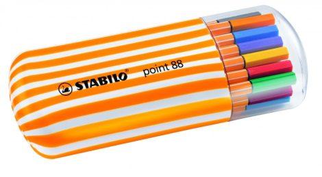STABILO point 88 Zebrui 20 db-os tűfilc készlet
