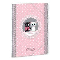 ARS UNA Think-Pink gumis dosszié A/4