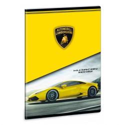 ARS UNA Lamborghini 3 négyzethálós füzet A/5