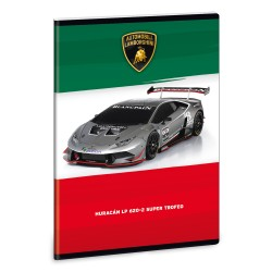 ARS UNA Lamborghini 4 négyzethálós füzet A/5