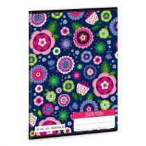 ARS UNA La belle fleur négyzethálós füzet 27-32