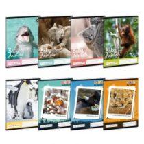 ARS UNA Világ állatai négyzethálós füzet 27-32