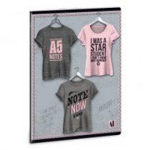 ARS UNA Shirt 1 sima füzet A/4