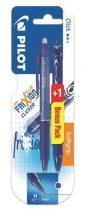 PILOT Frixion Clicker 0,5 radírozható toll + Ajándék Acroball golyóstoll VIZSGAPAKK - kék