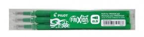 PILOT Frixion Ball 05 radírozható toll betét 3 db-os - ZÖLD