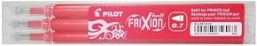 PILOT Frixion Ball 07 radírozható toll betét 3 db-os - PIROS