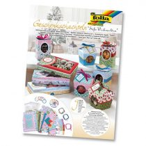 FOLIA Édes Karácsony ajándékdoboz készítő szett 9 részes