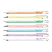 PENTEL Hybrid Milky pasztell színű zselés tollak 7 féle színben