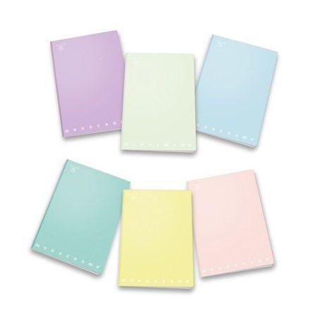PIGNA Monocromo Pastel négyzethálós füzet - A/4