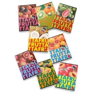 PIGNA Fruits négyzethálós füzet - A/4