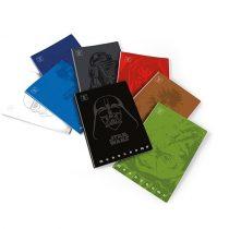 PIGNA Monocromo Cult Star Wars 42 lapos, tűzött négyzethálós füzet - A/4