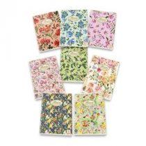 PIGNA Nature Flowers négyzethálós füzet A/5
