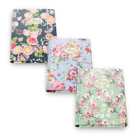 PIGNA Nature Flowers gumis mappa A/4