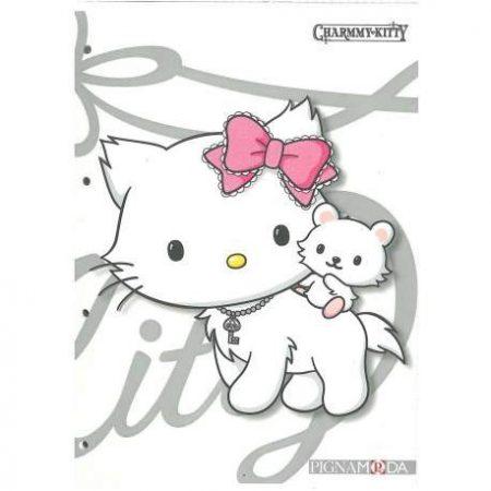 PIGNA Charmmy Kitty négyzethálós füzet - A/4