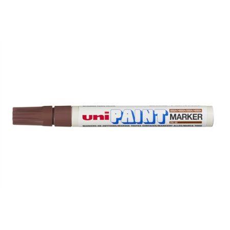 UNI Paint Marker lakkfilc BARNA - vastag