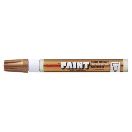 UNI Paint Marker lakkfilc FÉNYES BRONZ - vastag