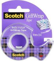 "3M Scotch ""Giftwrap"" ragasztószalag adagolón 19 mm x 7.5 m"